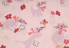 SALE! Alexander Henry Paris Paws Kitties DE#7099-B Cotton Fabric BTY