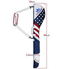 Authentic USA Flag GOLF Club Case Sunday Bag Range Carry Travel Golf Iron Carry
