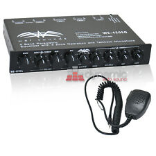 WET SOUNDS WS-420SQ 4 Band Parametric Marine Boat Equalizer EQ New