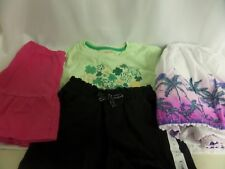 Lot Of Girls Size 7 Childrens Place Sonoma Skirts & Cat & Jack Tee, Jumping Bean