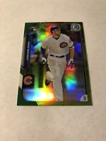 2015 BOWMAN CHROME GREEN REFRACTOR ROOKIE KRIS BRYANT RC /99