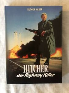 The Hitcher 2 Disc Blu Ray + DVD Mediabook with Booklet