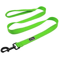 120cm Dog Lead Reflective Pet Leash & Mesh Padded Handle for Medium Large Dogs