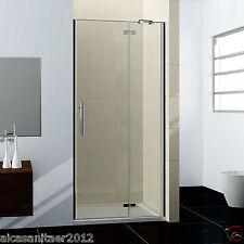 80x185cm duschabtrennung nischentr schwingtr dusche nano echtglas duschwand - Dusche Nischentur 85 Cm