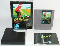 Golf NES Nintendo Complete CIB Authentic & Tested Non Rev-A Circle Seal!
