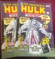 The Incredible Hulk #1, Walmart Exclusive Reprint - 2 of Them
