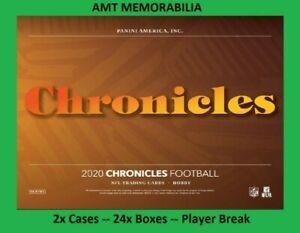 James Morgan New York Jets 2020 Panini Chronicles 2X CASE 24X BOX BREAK #2