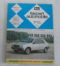 Revue technique EXPERT AUTOMOBILE 185 1982 Renault 14 version TL GTL TS mod 1982