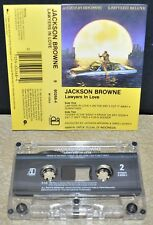 JACKSON BROWNE      - LAWYERS IN LOVE -                           Cassette Tape