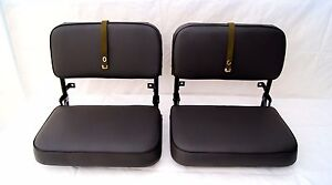 Toyota Land Cruiser FJ40 BJ40 BJ42 Jump Seats restored to showroom condition!