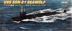 HobbyBoss 87003 US Submarine Seawolf SSN-21 1/700 Scale Plastic Model Kit