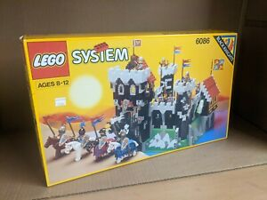 MISB Sealed New Lego Vintage 1992 Classic Black Knights Dungeon Castle 6086 NIB