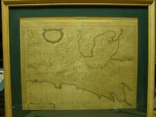 Antique Map of Riviera di Genova de Levante Genoa Italy and Surrounding Area