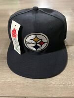 Vintage New Era Pro Model Pittsburg Steelers Fitted Cap Wool Blend Size 7