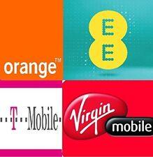 UNLOCK CODE SERVICE FOR IPHONE SE 5S 5 4S UK NETWORK EE TMOBILE ORANGE VIRGIN BT