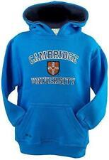 Cambridge University Licensed Unisex Kids Hooded Hoodie Sweatshirt Hot Pink Colo