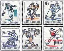 Timbres Sports Tchécoslovaquie 1251/6 ** lot 24012