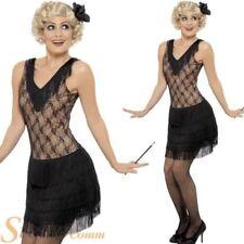 Mujer Charlestón Clásico Disfraz años 20 30s All That Jazz Adulto