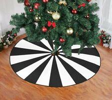 Nightmare before Christmas tree skirt Gothic Christmas tree skirt Goth Christmas