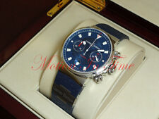 Ulysse Nardin Blue Seal Chronograph Stainless Limited Edition 41mm 353-68LE-3