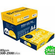 PAPEL A4 UNIVERSAL 80 gr FOLIOS DIN BLC PAQUETE de 500 HOJAS EXTRA BLANCO HQ