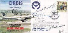 JS(CC)85 ORBIS at Biggin Hill Air Fair Signed  5, Battle of Britain,VC,GC Holder