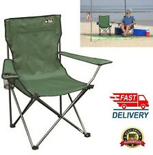 Folding Camping Deck Fishing Chairs High Back Directors Lightweight Picnic BBQ