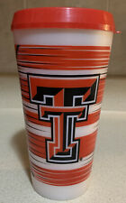 Official Texas Tech University Red Raiders Wrap Tumbler 24 oz With Lid