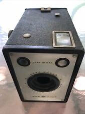 Vintage AGFA ANSCO SHUR SHOT Art Deco Box Camera D6 Film USA made Binghamton NJ