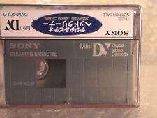 PRO cuidado Videocámara Mini Dv Cabeza Limpiador de cintas//Cassette-Seco Tipo Suave