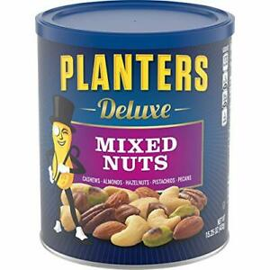 Planters Deluxe Mixed Nuts 15.25 oz Canister