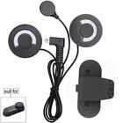 Moto Casco Microfono Auriculares para Bluetooth Interfono 800m Intercomunicador