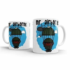 Armed Airborne Forces PARAS Paratrooper MISTERAirborne Balloon Jump by PIG Mug