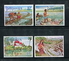 Philippines 1090-1093,MNH.Michel 959-962. Pearl farm,Coral divers,Rice terraces.