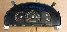 03 04 2003 2004 Kia Sorento Speedometer Gauges Head Cluster AT MPH