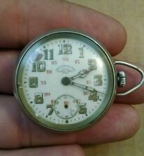 Very rare WW1 CHF Tissot & Fils Army Signal Corps Locle Pocket Watch