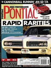 HIGH PERFORMANCE PONTIAC 2000 JUNE - RARE MUSCLE, 400
