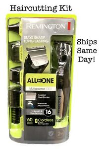 Remington All In One Multi Grooming Kit Hair Cut Clipper Trimmer Shaver Cordless