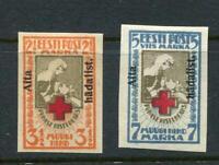 Estonia 1923 Overprint Imperf Sc B9-10 CV $120.00  6819