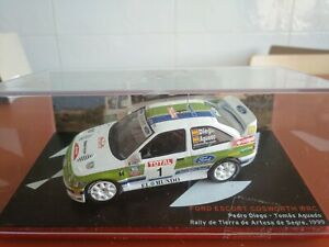 COCHE 1/43, ALTAYA, MODELO FORD ESCORT COSWORTH WRC R. ARTESA DE SEGRE 1999