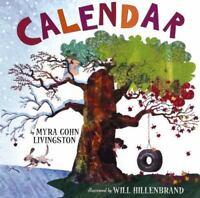 Calendar by Myra Cohn Livingston (2007, Picture Book)