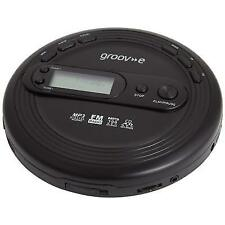 Groov-e Gvps210 Retro Series Personal CD Player With Radio Mp3 Playback and Ear
