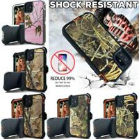 For iPhone 11 Pro Max SE 2020 American Flag Camo Case Cover Holster Belt Clip