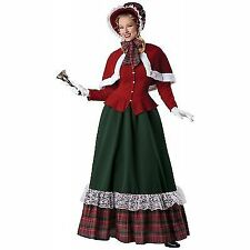 Adult Female Yuletide Lady Christmas Costume by InCharacter Costumes LLC 51011 Large