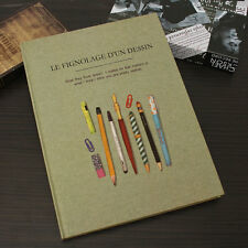A3 Classic Sketch Book 50 sheets Notebook Blank Paper Kraft Drawing Paper Pad