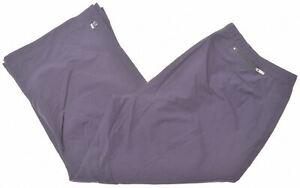 NIKE Womens Capri Tracksuit Trousers UK 14 Large Black Nylon  MS06