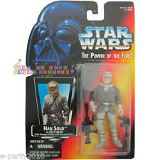 Star Wars Power of the Force Han Solo in Hoth Gear Figure ~ Collectible Toy 1995
