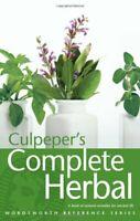 Culpeper's Complete Herbal (Wordsworth Refere... by Culpeper, Nicholas Paperback