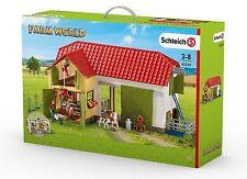 Schleich 42333 großer Bauernhof mit Tieren und Zub.