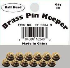 ( 24 Pieces ) Pin Keepers backs Locks Locking (Ball Head Gold)